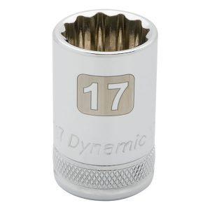 dado cromado cuadrante 1_2_ standard 30 mm - 32mm 12 puntas