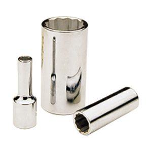 """Dado cromado cuadrante 3/8"""", standard, 19 mm, 12 puntas GRAY TOOLS"""