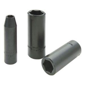 """Dado de impacto cuadrante 3/8"""", largo, 19 mm, 6 puntas GRAY TOOLS"""