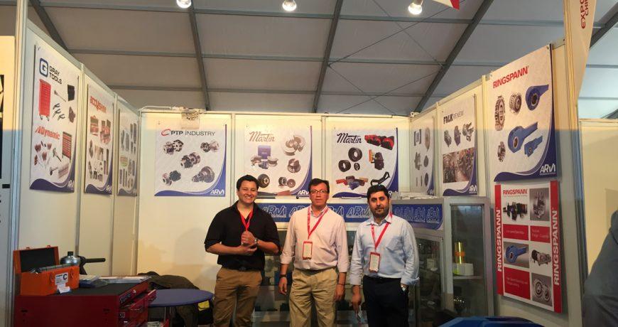 Arvi Industrial en Exponor 2017
